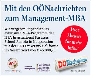 Mit den OÖNachrichten zum Management-MBA