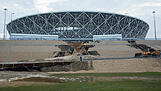 SOCCER-WORLDCUP/RUSSIA-FLOOD-STADIUM