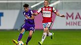 SOCCER - 2. Liga, Young Violets vs Ried